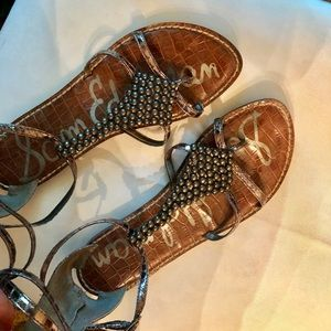 Sam Edelman Ginger Thong/Gladiator Sandals